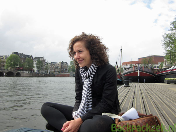 Claudia in Amsterdam