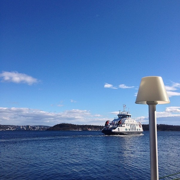 Foto van de week - Ferry in Oslo