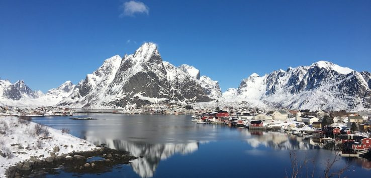 Reine lofoten winter 1