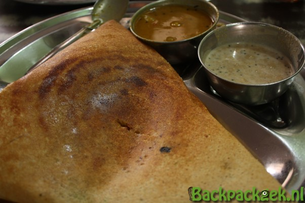 Eten in India - Dosa time!