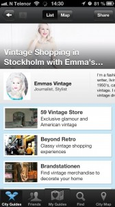 Een vintage shopping guide op Stay.com
