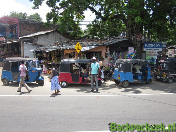 Foto van de week - Op straat in Pottuvil, Sri Lanka