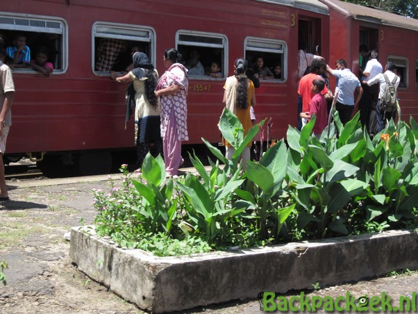 Foto van de Week - Een station in Sri Lanka